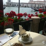Best Italian dishes and view from restaurant at Hotel