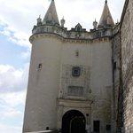 L'entrée du château