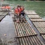 Patrick & Sabine at Yulong bamboo tour.