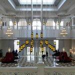 The main lobby..