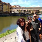 Ponte Vecchio in Florence, on the city tour