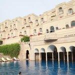 Oberoi swimming pool