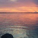 Wonderful sunset view