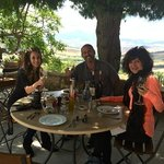 Dining in the Tuscan countryside