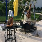 BBQ by the pool