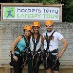 First Time Ziplining!!! wohoo!!