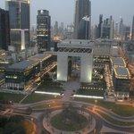 Partial Burj Khalifa View