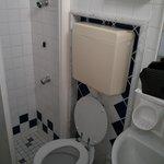 """panoramica"" del bagno"