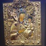 Circa 1690 jeweled icon