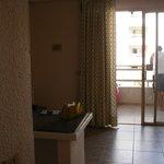 pokój i widok na balkon