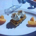 palet breton aux abricots et chantilly vanillè
