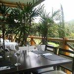 Deck do Restaurante Jardins