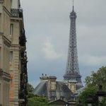 Eiffel Tower taken from Pantheon.  Favorite picture