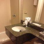 Clean bathrooom