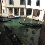 View from balcony towards restored La Fenice