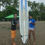 Surfing in Dominical - July 2014