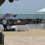 Beach BBQ lunch