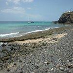 plage sur la costa calma