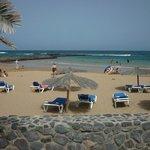 plage privée donnant sur la mer