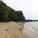 Autre petite plage de l'ile