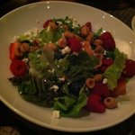 WiseGuys' Berry Crunch Salad with hazelnuts and goat cheese