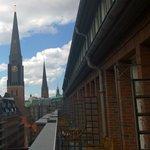 Blick vom Balkon, Bugenhagenstraße