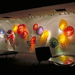 Persian Wall - Dale Chihuly Artwork on display throughout the theater