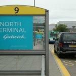 pick up point at North Terminal