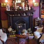The main sitting room - you can sit in those chairs if you like