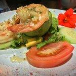 Shrimp/avacado appetizer