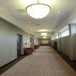 GROUND FLOOR HALLWAYS OF COURTYARD HOTEL