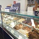 delicious ice cream at Livani in Alicante