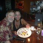 Birthday treat at Roy's Rancho Mirage