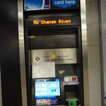 The Oyster Card machine