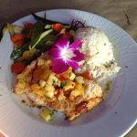 Island Grouper Meal