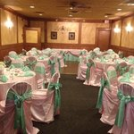 our banquet room