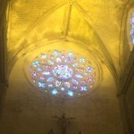 Stain Glass of Seville Cathedral