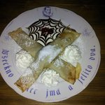 My dessert at Pivnice Dacicky
