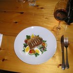 Salade Nicoise with crisp broiled Arctic char