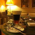 le plus bel Irish Coffee qu'on m'ai servis!