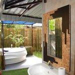 """Luxueuse salle de bain """"sous les étoiles"""""""