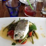 Second plat - poisson et ses petits légumes