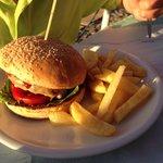 Ypperlig Cheeseburger fra en som er kresen på det :-)