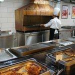 Warm buffet