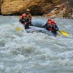Some rapids!  It is SO fun!