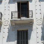 Balcony from the colonial era near Hotel