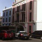 Facade of Hotel Plaza de Armas