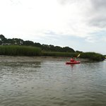 Touring in the kayak