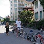balade en vélo prêtés par l'hotel