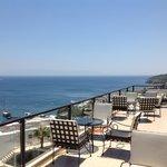 vue terrasse très belle sur les iles